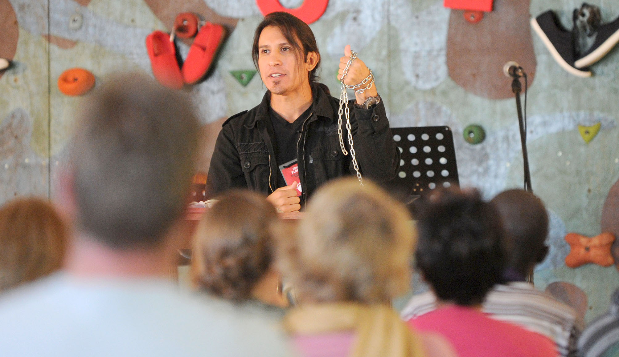 Pastor Eric Flores at the Calvary Chapel Africa Conference 2015