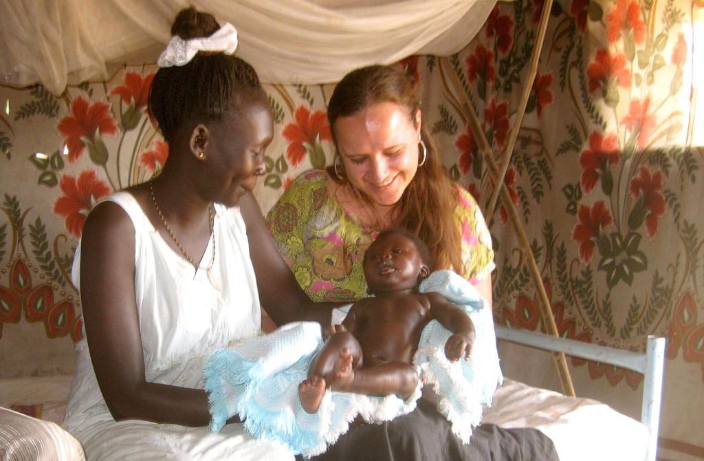 Stephanie Williams in South Sudan