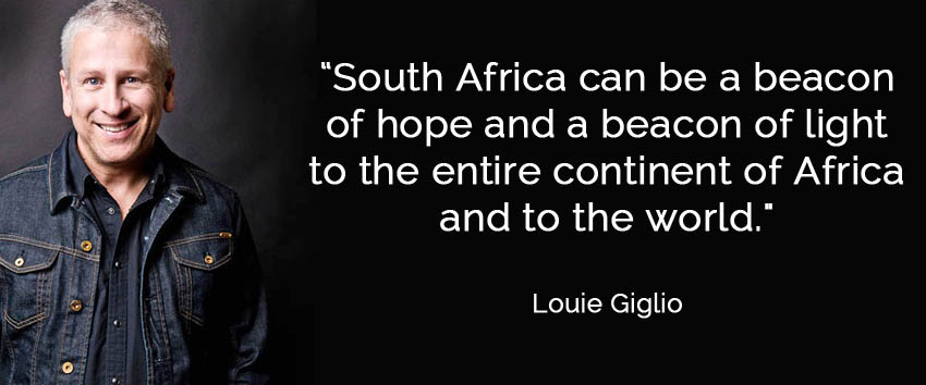 Louie Giglio's Vision for South Africa