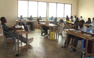 Students in Class at the Calvary Chapel Bible Training Centre