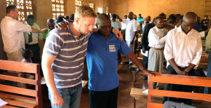 David and Leckson in Malawi